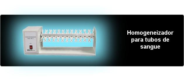Homogeneizador para tubos de sangue